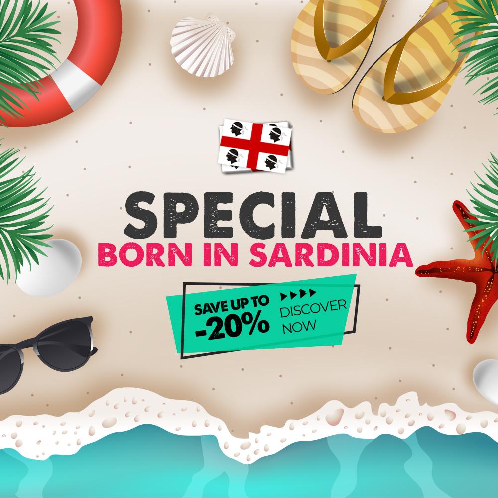 Born in Sardinia
