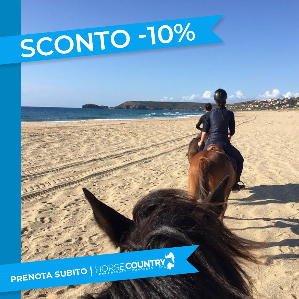 -10% Vacanza Natura a Cavallo in Sardegna