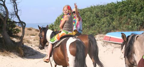 "Holiday ""nature on horseback in Sardinia"""