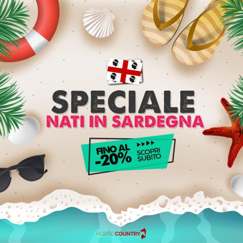 "Offerta Speciale ""Nati in Sardegna"""