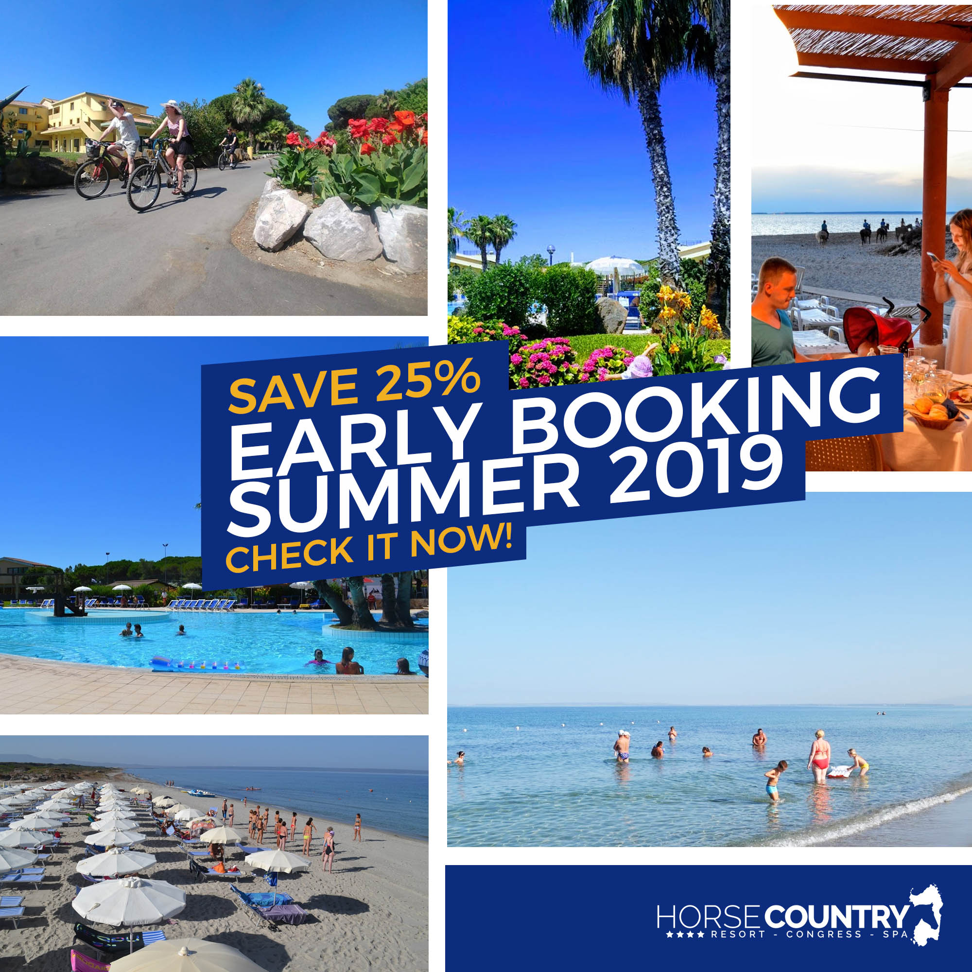 Early booking 25%