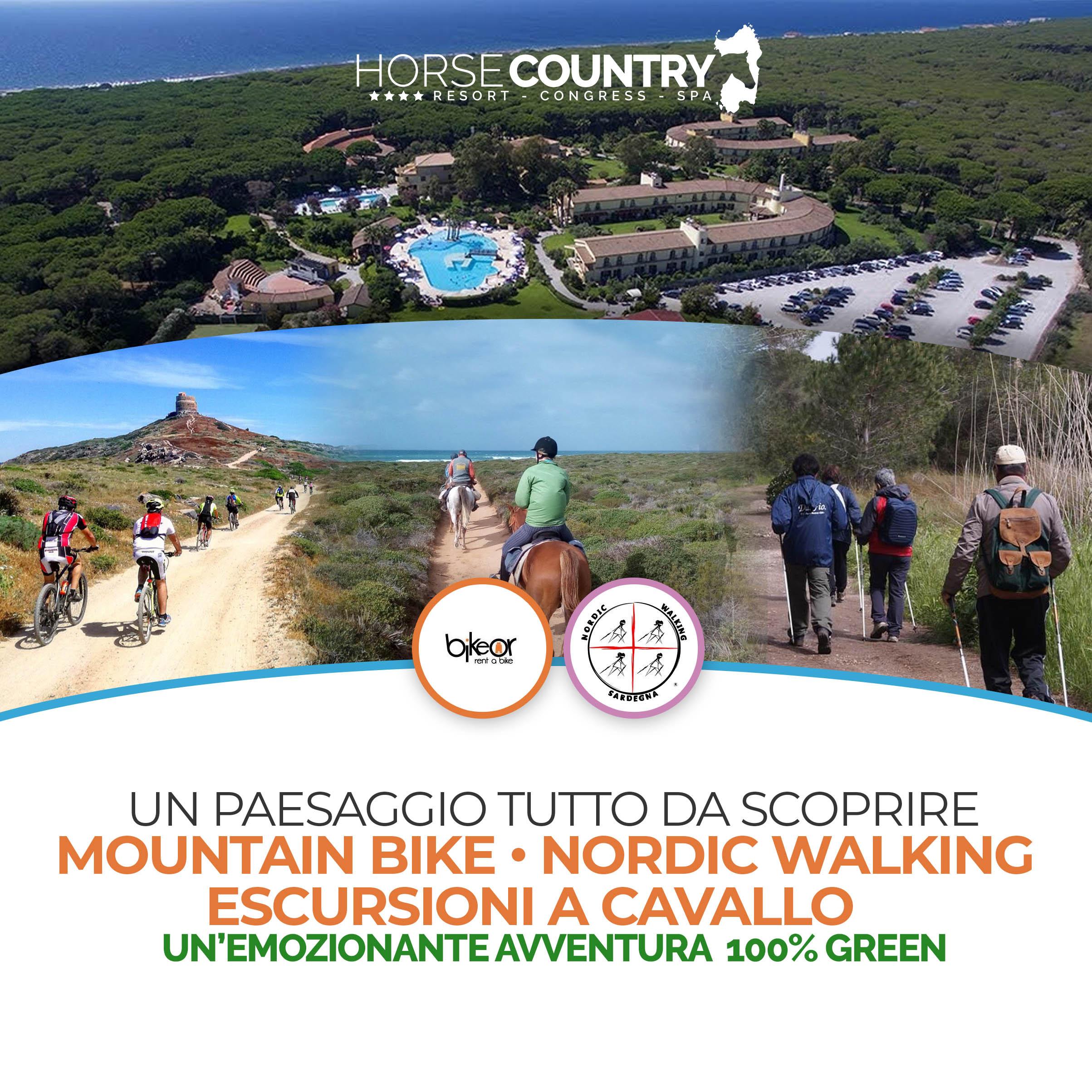 Un paesaggio tutto da scoprire – Mountain Bike / Nordic Walking / Escursioni a cavallo