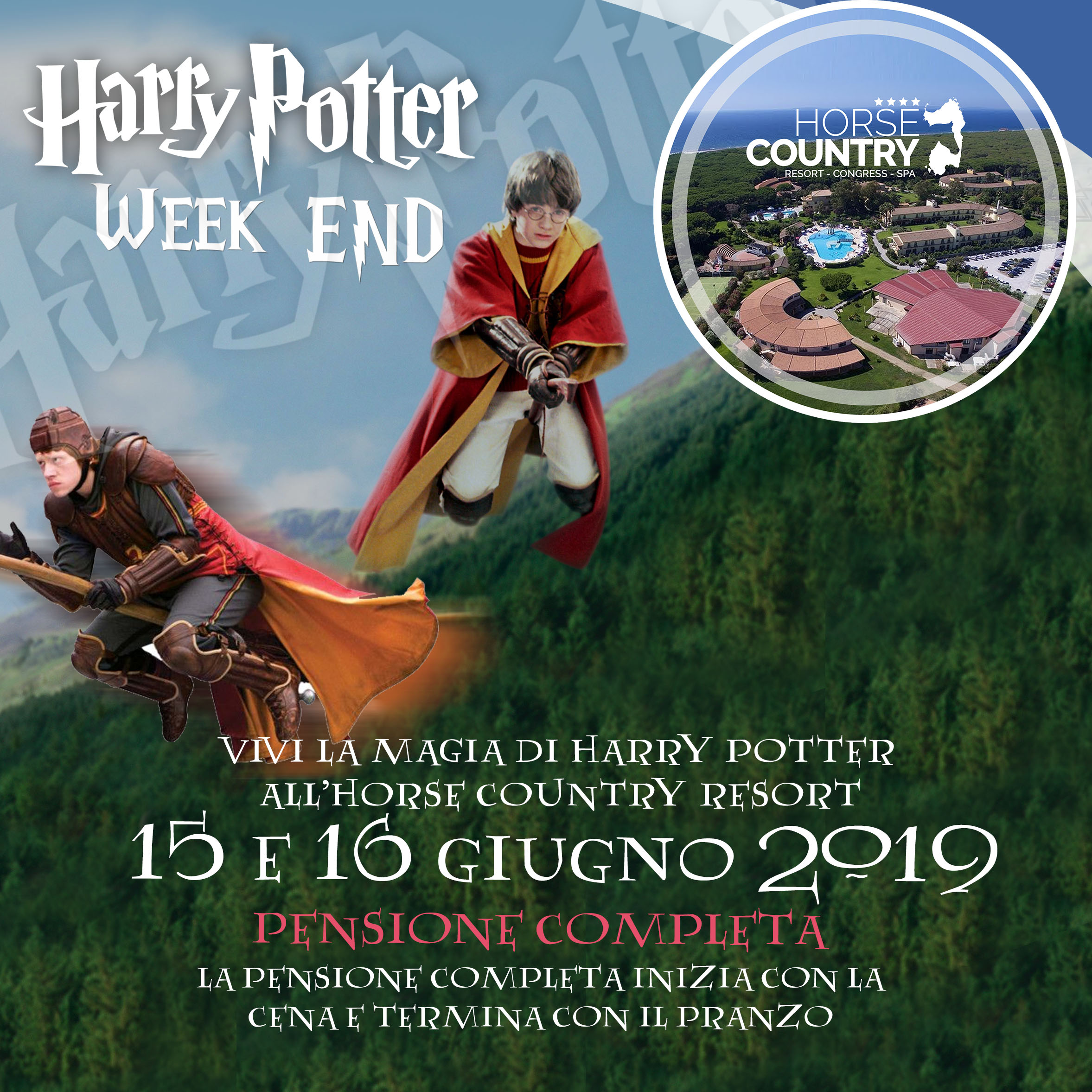 Weekend di Harry Potter