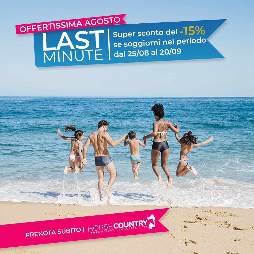 LAST MINUTE | SUPER SCONTO -15% - Horse Country