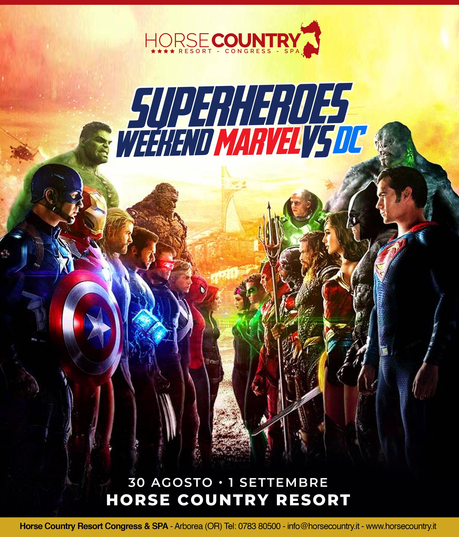 SUPERHEROES WEEKEND MARVEL VS DC