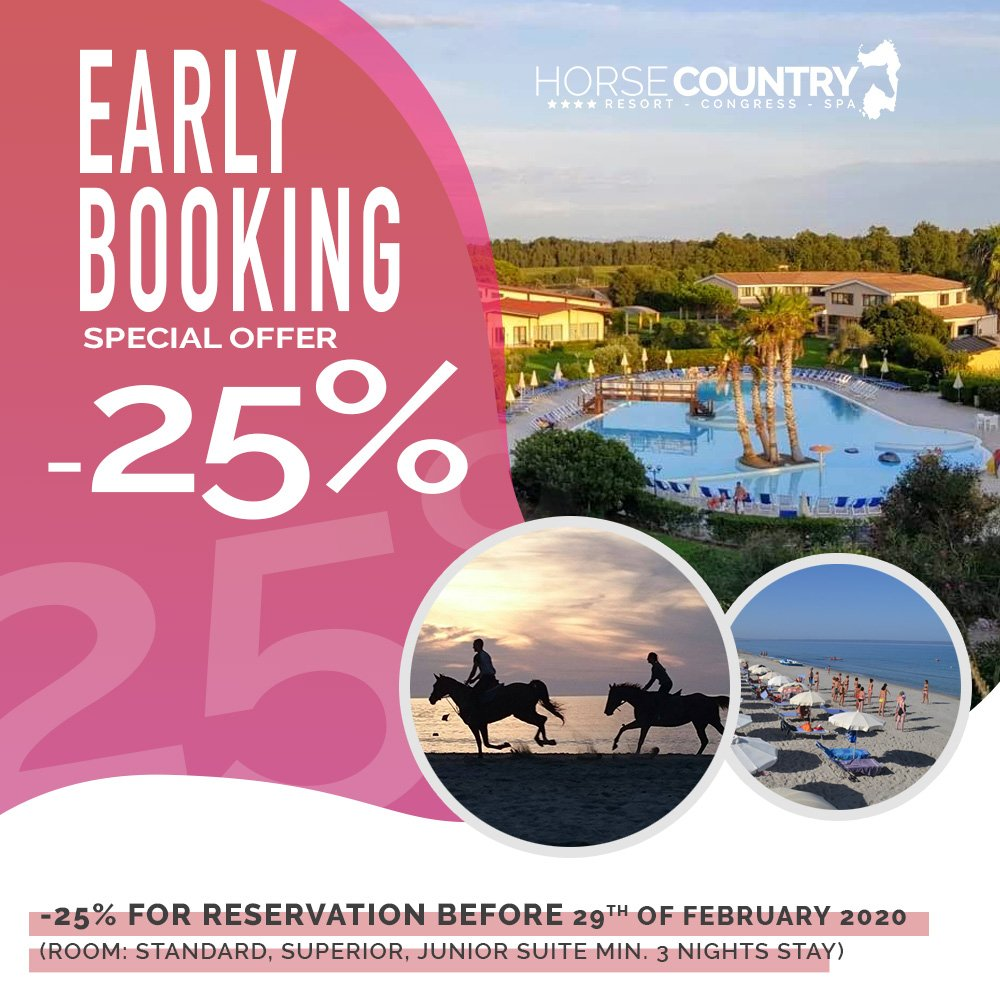 BOOK EARLY AND SAVE 25 %