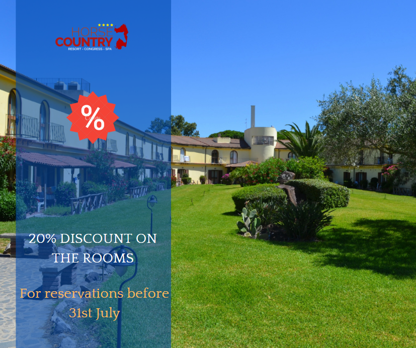 BOOK EARLY AND SAVE 20 %. FOR RESERVATION MADE BY 31TH JULY.