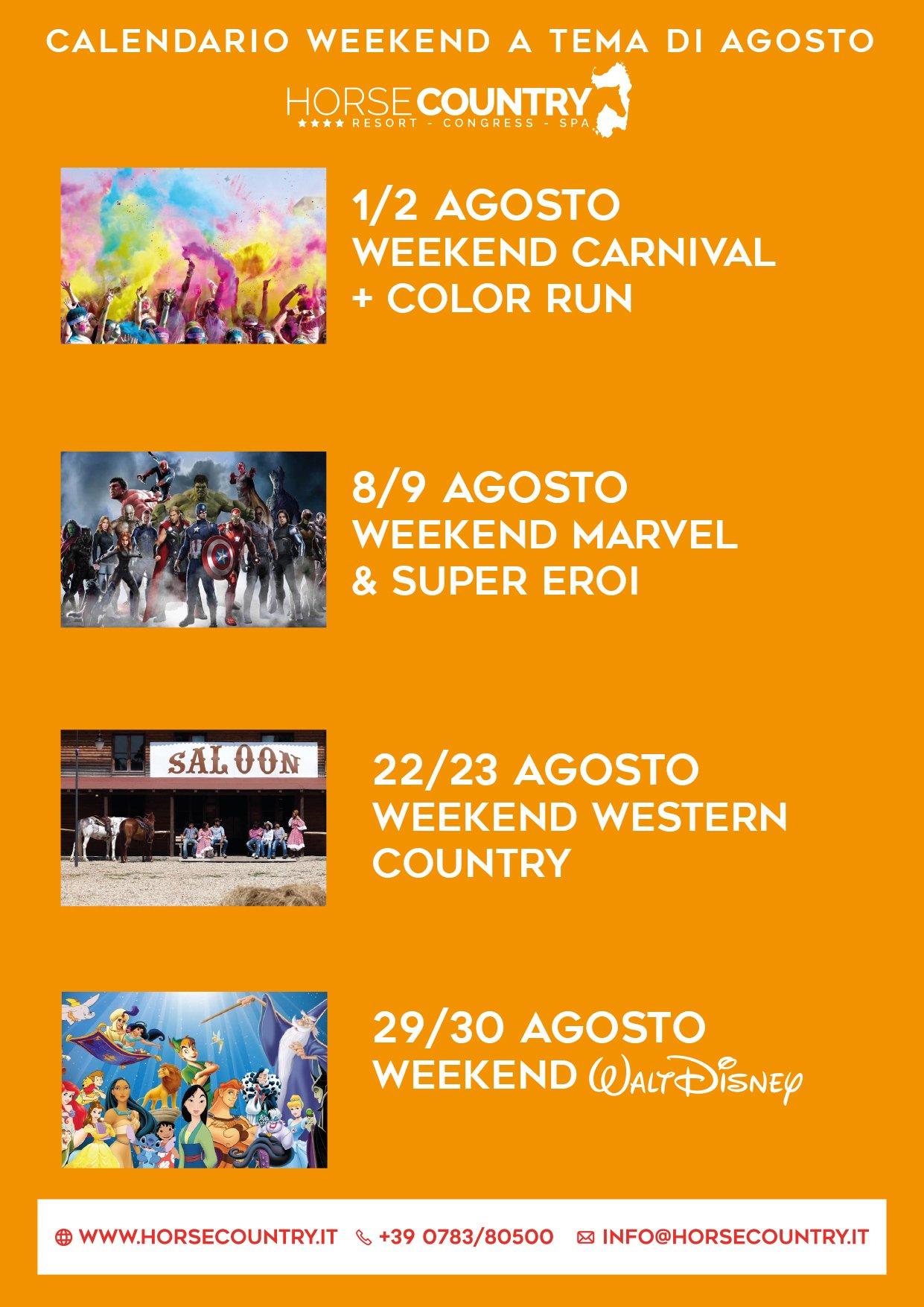Offerta weekend tematici by Horse Country Resort