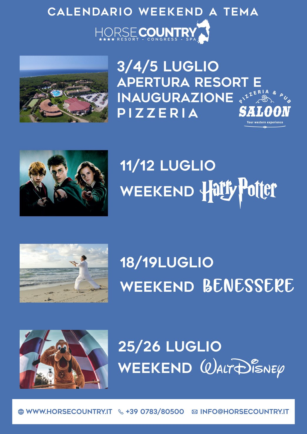 Offerta weekend tematici byHorse Country Resort