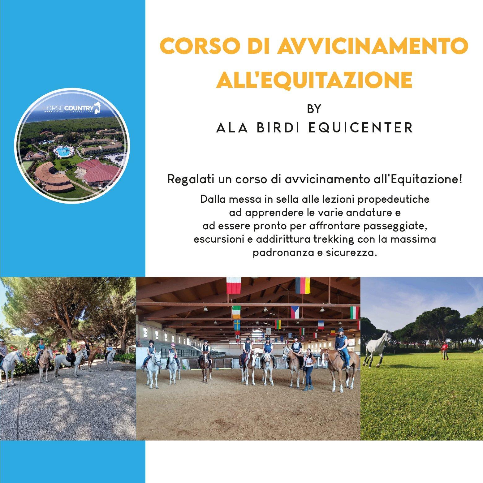 Corso di avvicinamento all'Equitazione by Ala Birdi Equicenter