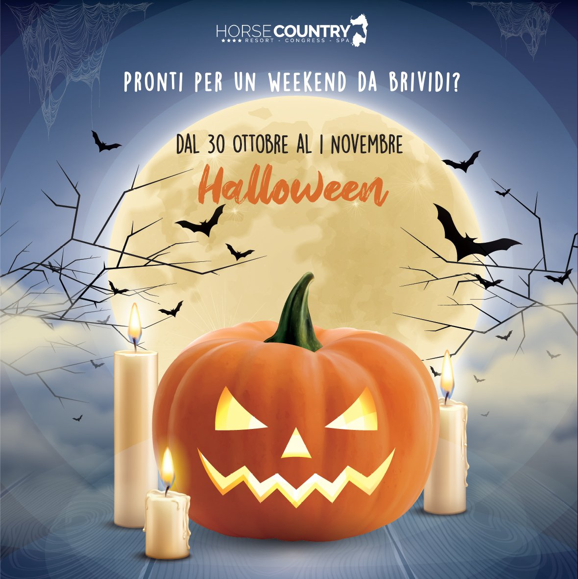 Halloween all'Horse Country Resort