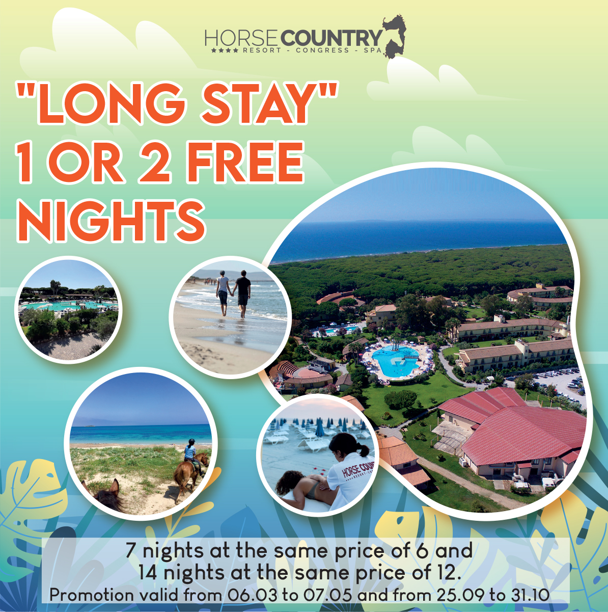 « LONG STAY » 1 OR 2 FREE NIGHT