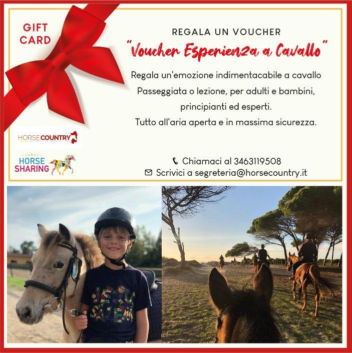 "GIFT CARD ""Esperienza a Cavallo"""