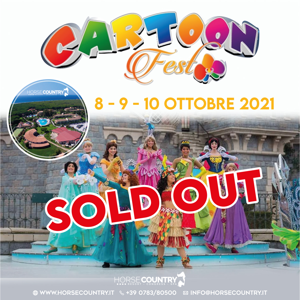SOLD OUT – CARTOON FEST 2021 – SOLD OUT