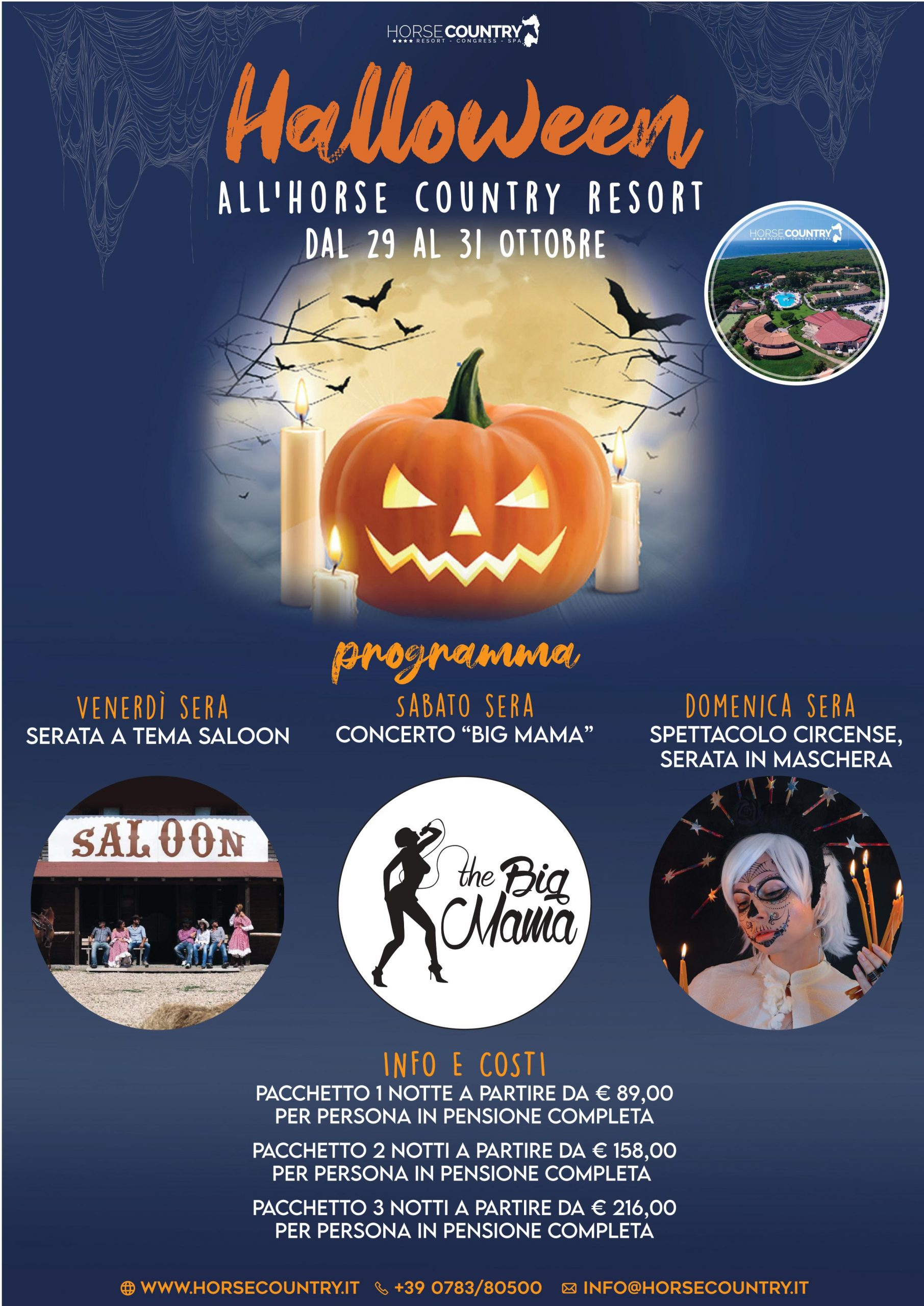 """""""HALLOWEEN"""" all'Horse Country Resort"""